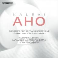 パウルソン/カレヴィ・アホ:ソプラノ・サックス協奏曲、他