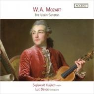 シギスヴァルト・クイケン/モーツァルト:ヴァイオリン・ソナタ集(5CD)