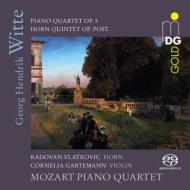 モーツァルト・ピアノ四重奏団/ヴィッテ:ピアノ四重奏曲、ホルン五重奏曲