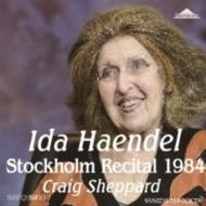 イダ・ヘンデル、ストックホルム・リサイタル1984(2CD)