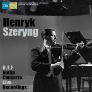 【入荷】シェリング/ヴァイオリン協奏曲ライヴ集〜ベートーヴェン、ブラームス、他