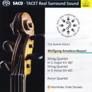 アウリン四重奏団/モーツァルト:弦楽四重奏曲第14番、第15番