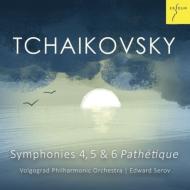 セロフ指揮ヴォルゴグラード・フィルによるチャイコフスキー後期交響曲集