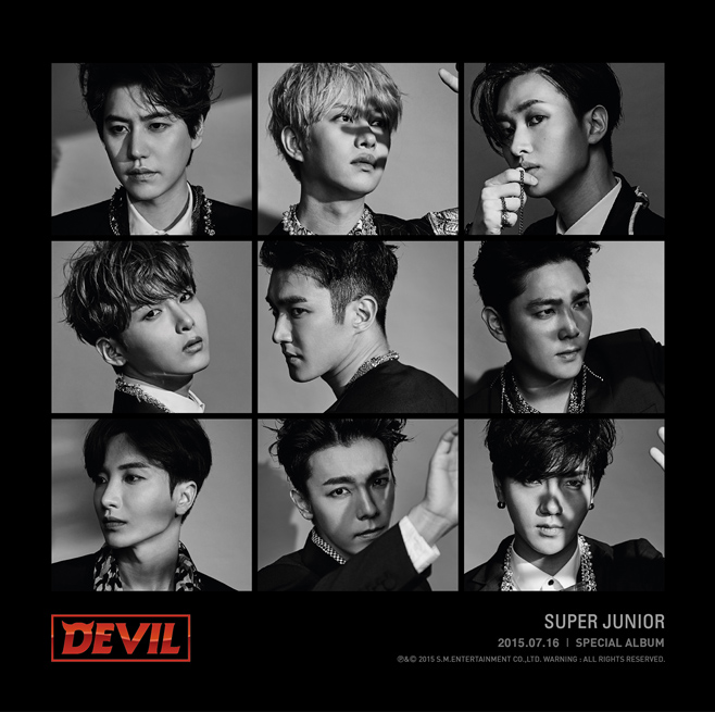 SUPER JUNIOR �f�r���[10��N�I�X�y�V�����E�A���o���wDEVIL�x��d�������[�X