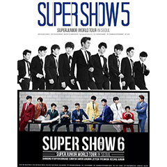 SUPER JUNIOR ���[���h�c�A�[ �gSUPER SHOW�h 5&6�����C�uCD�œo��