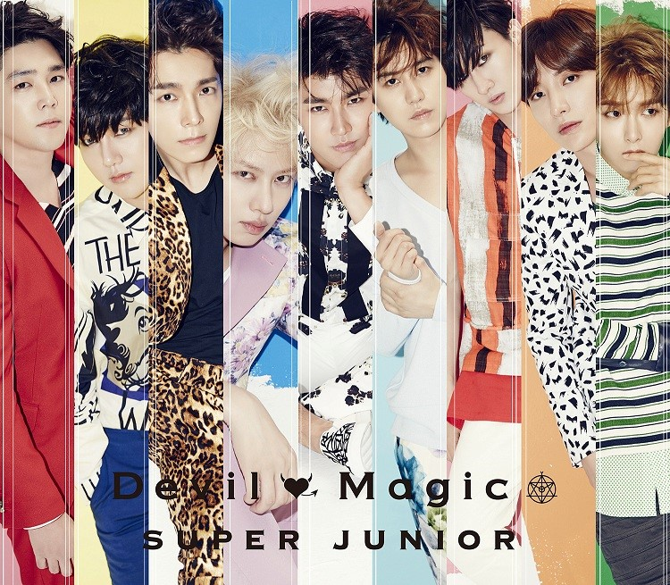 SUPER JUNIOR ���̗�A�ʃV���O�� �wDevil / Magic�x