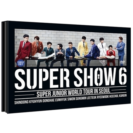 SUPER JUNIOR ���[���h�c�A�[ �gSUPER SHOW 6�h������DVD��