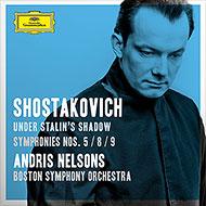 グラミー賞受賞 ネルソンスによるショスタコーヴィチ第5・8・9番
