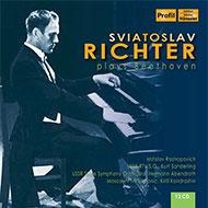 入荷! 独Profil リヒテル・ベートーヴェン・ボックス(12CD)