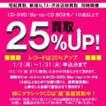 1/31(火)申し込み分まで【買取アップキャンペーン開催中!】