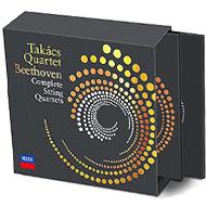 タカーチ四重奏団のベートーヴェン弦楽四重奏曲全集(7CD+ブルーレイ・オーディオ+DVD)