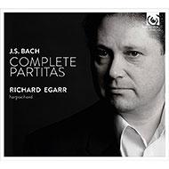 リチャード・エガーによるバッハ:パルティータ全曲