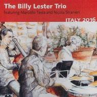 クール派ピアノ名手ビリー・レスター イタリア録音のトリオ新作