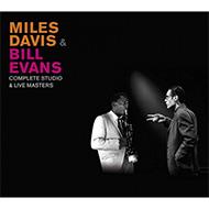 【再入荷】マイルス&エヴァンス 両巨人のスタジオ/ライヴ共演録音完全網羅の3CDセット