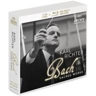 リヒター/バッハ:4大宗教曲集、他(11CD+BDオーディオ+4DVD)