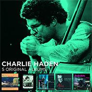 孤高のベーシスト チャーリー・ヘイデン 90〜00年代名盤5タイトル徳用ボックス