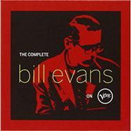 未発表曲・未CD化音源もたっぷり収録 ビル・エヴァンス Verveコンプリートレコーディングボックス