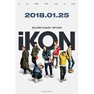 iKON 約2年ぶりとなる2ndアルバム『RETURN』