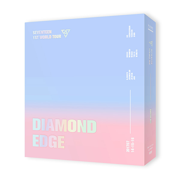 2017 SEVENTEEN 1ST WORLD TOUR CONCERT DIAMOND EDGE DVD