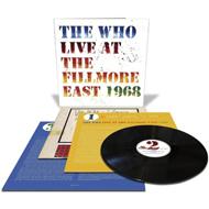 ザ・フー『Live At The Fillmore East』3枚組アナログ盤入荷!