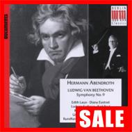 【在庫特価】アーベントロート&ライプツィヒ放送響/ベートーヴェン:交響曲第9番