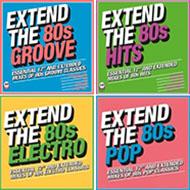 ディスコ〜MTV世代はド真ん中!とってもお得な「EXTEND THE 80s」シリーズ発売中!