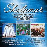 【ディスコ名盤】シャラマー初期アルバム3タイトルを2CDにパッケージ