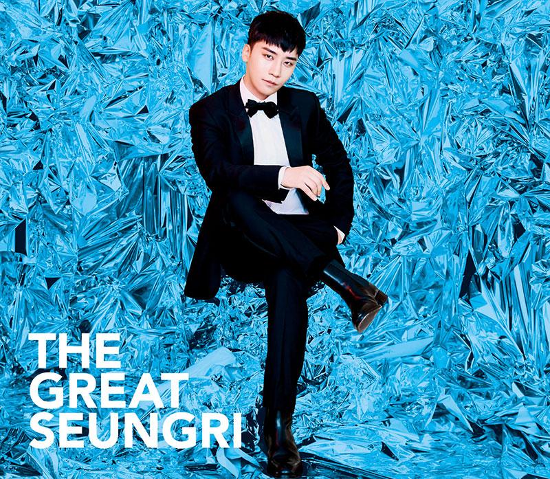 BIGBANGのヴォーカリストV.I 待望の日本2nd ソロアルバム『THE GREAT SEUNGRI』