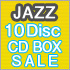 JAZZ 10 Disc CD BOX SALE