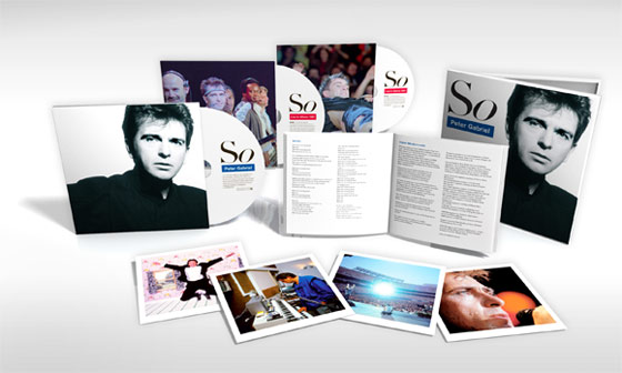 PETER GABRIEL『SO』3CD Special Edition