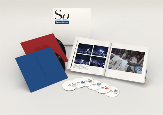 PETER GABRIEL『SO』Deluxe Box Set