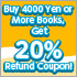 Buy Books Get 20% Refund