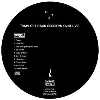 Ovall HMV GBSライブ音源CD