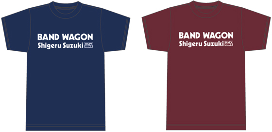 『HMV GET BACK SESSION Special』 鈴木茂 「BAND WAGON」 Tシャツ