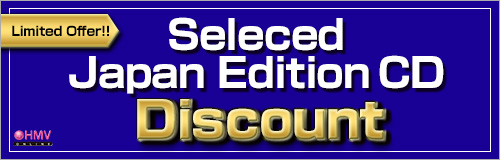 Limited Offer! Seleced Japan Edition CD Discount
