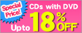 CD+DVD Up to 18% Discount