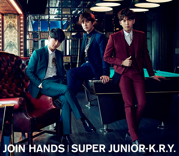 SUPER JUNIOR-K.R.Y.�@8��5���NEW�V���O���wJOIN HANDS�x�����[�X�I
