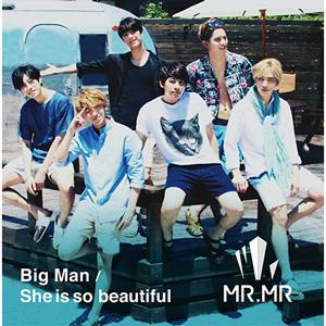 MR.MR 2nd�V���O���wBig Man / She is so beautiful�x�IDVD�t��Loppi�EHMV����Ղ��I