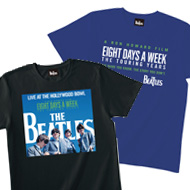 ザ・ビートルズのライヴ・アルバム発売記念Tシャツ