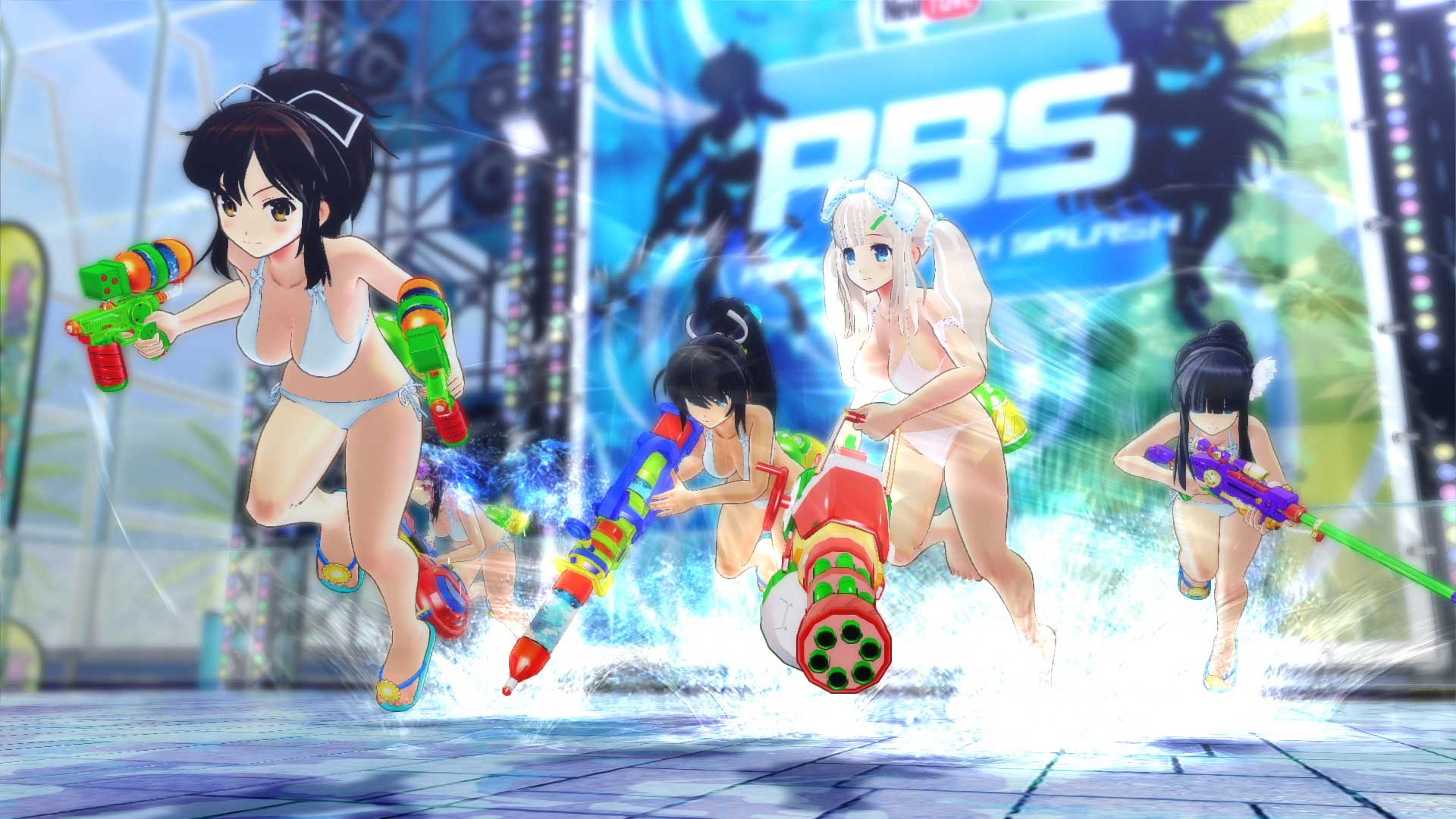 閃乱カグラ PEACH BEACH SPLASH