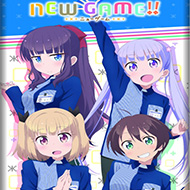 Loppi・HMV限定『NEW GAME!』グッズ