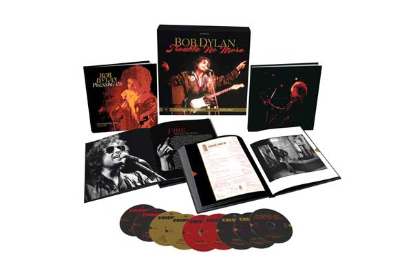 Bob Dylan『Trouble No More: The Bootleg Series Vol.13』展開図