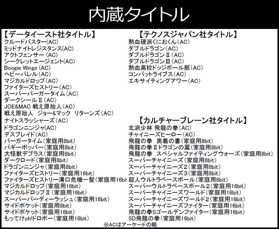 ジェネ—ション3 Retro-bit GENERATIONS III
