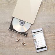 パソコン不要!スマホでDVD再生、音楽CDを直接取り込み!『DVDミレル/CDレコ』