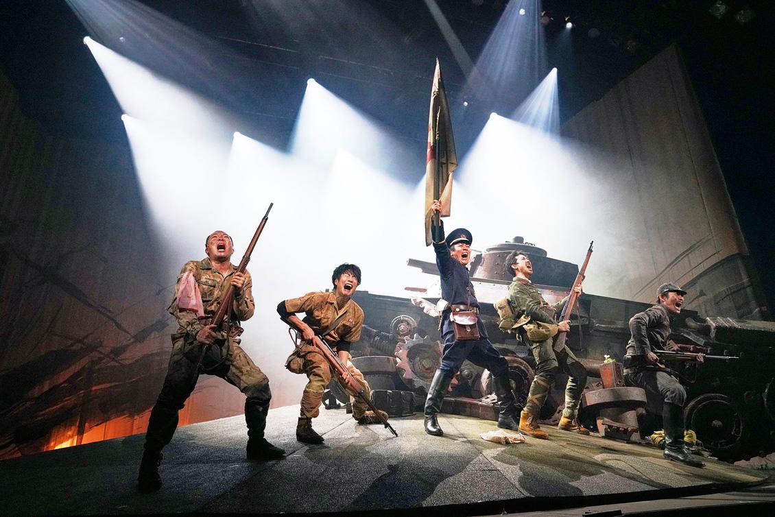 TEAM NACS 第16回公演PARAMUSHIR 〜信じ続けた士魂の旗を掲げて