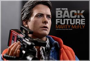 Movie Masterpiece バック・トゥ・ザ・フューチャー 1/6スケールフィギュア マーティ・マクフライ