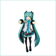 REAL ACTION HEROES 初音ミク −Project DIVA− F