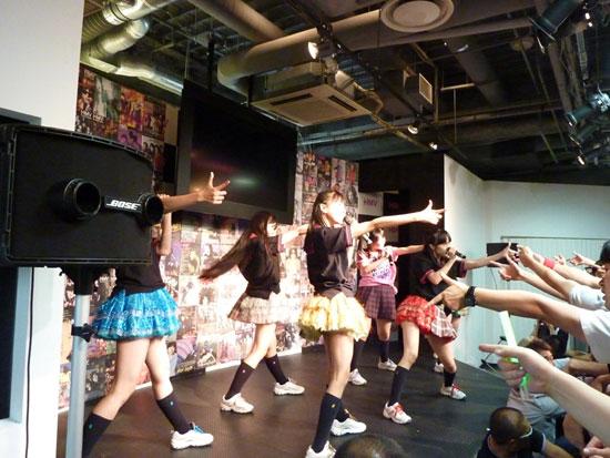 ももいろクローバー HMV 渋谷 インストア イベント