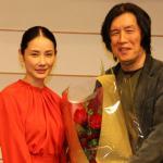吉田羊が花束贈呈『バーニング 劇場版』イ・チャンドン監督来日会見