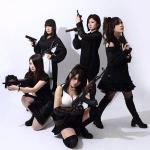 大阪のガールズメタル・バンド THE SHEGLAPES!